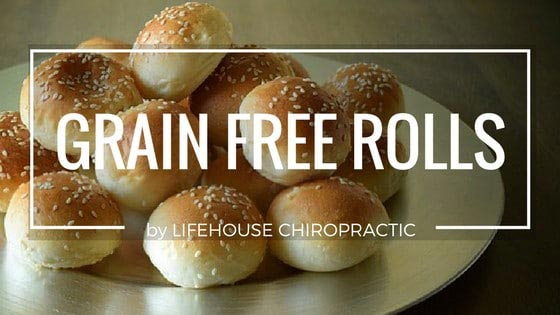 Chiropractic London ON Grain Free Rolls