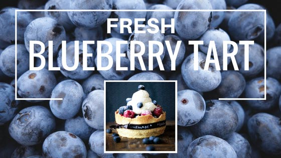 Chiropractic London ON Fresh Blueberry Tart Recipe