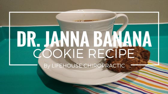 Chiropractic London ON Banana Cookie Recipe
