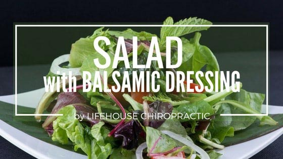 Chiropractic London OH Salad Recipe